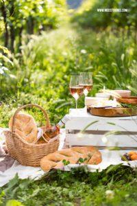 Picknick im Weinberg Wingert Vins de Provence Roséwein #MyFriendshipMoment #myprovencemoment #letsstayrose #picknick #weinberg #wingert #provence #rosewein