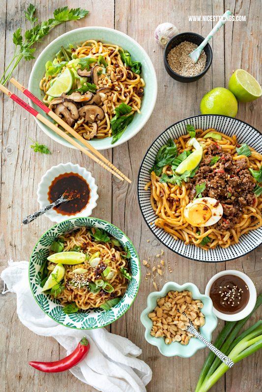 Chinesische Nudeln vegan und nicht vegan Rezepte #chinesisch #nudeln #chinesischenudeln #vegan #veganerezepte #asiatisch #LKKsummerstories #summerstories