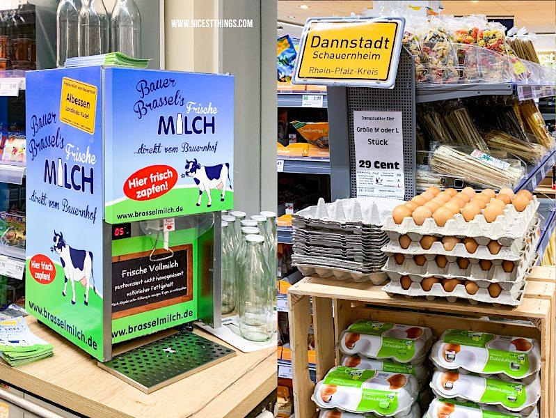 Edeka Schneider Neustadt an der Weinstraße regionale Produkte aus der Pfalz Bauer Brassel Milch Eier Dannstadt-Schauernheim #edeka #wirundjetztfürunsereregion #regionalerezepte