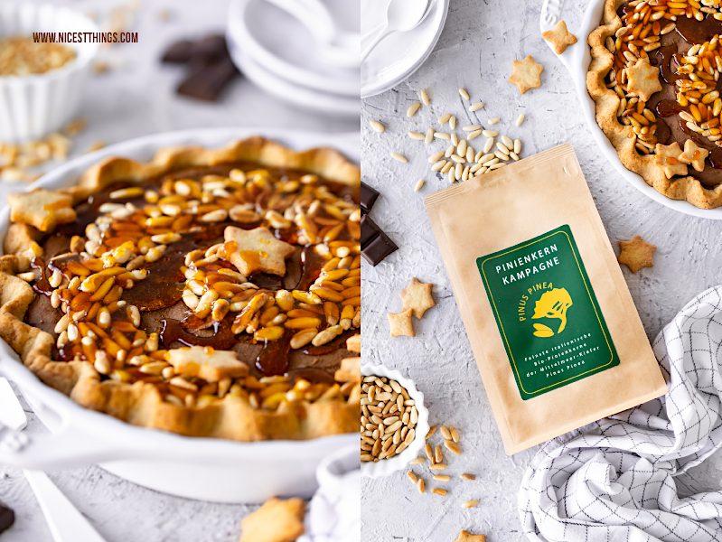 Pinienkern Kampagne Pinienkerne Bio aus Italien Pinienkernkuchen Pinienkern Tarte Rezept
