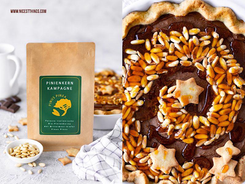 Pinienkern Kampagne beste Pinienkerne der Welt aus Italien Pinienkern Rezept Tarte Pie