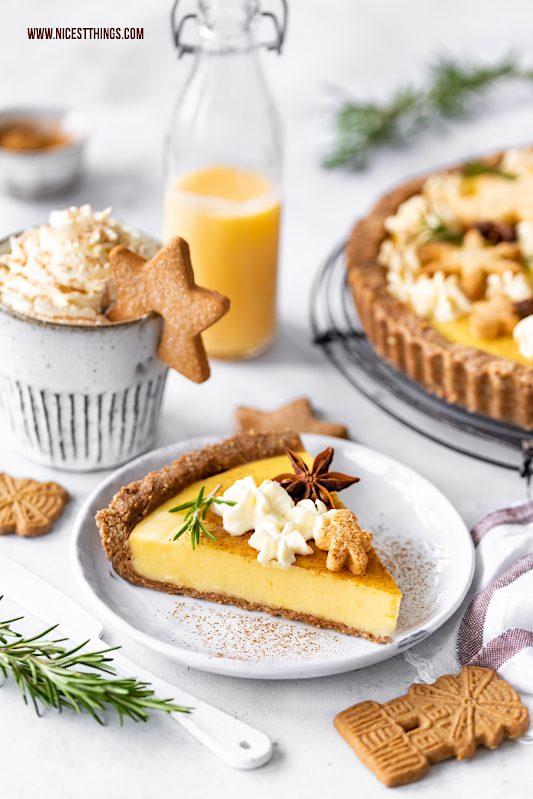 Eierlikörtarte Eierlikör Tarte Rezept Eggnog Pie Eierlikör Pie #eierlikör #tarte #eierlikörtarte #eggnog #pie #ostern #weihnachten
