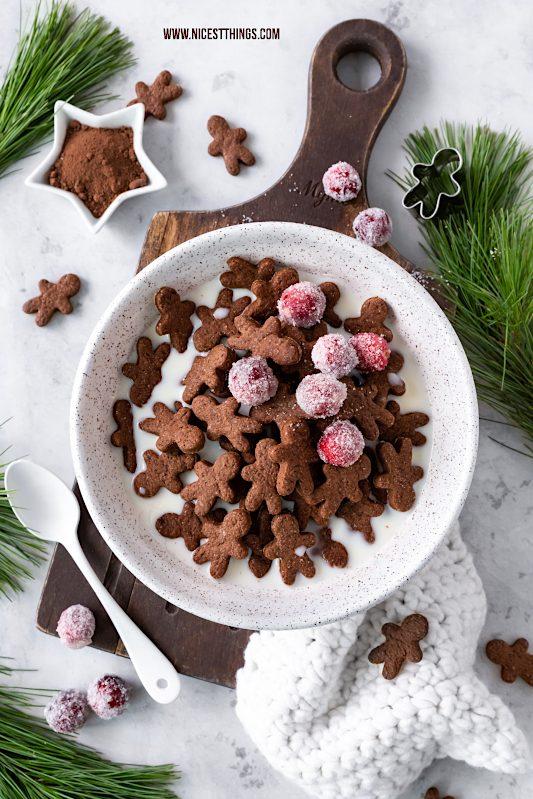 Lebkuchenmänner Mini Lebkuchenmänner Cereals Lebkuchenmännchen Weihnachtsfrühstück wie Pancake Cereals Frühstück Weihnachten Lebkuchen Gingerbread Man Cereals #lebkuchenmänner #lebkuchen #lebkuchenmännchen #cereals #pancakecereals #cerealpancakes #minipancakes #frühstück #weihnachten #weihnachtsfrühstück #gingerbread #gingerbreadmen #gingerbreadman