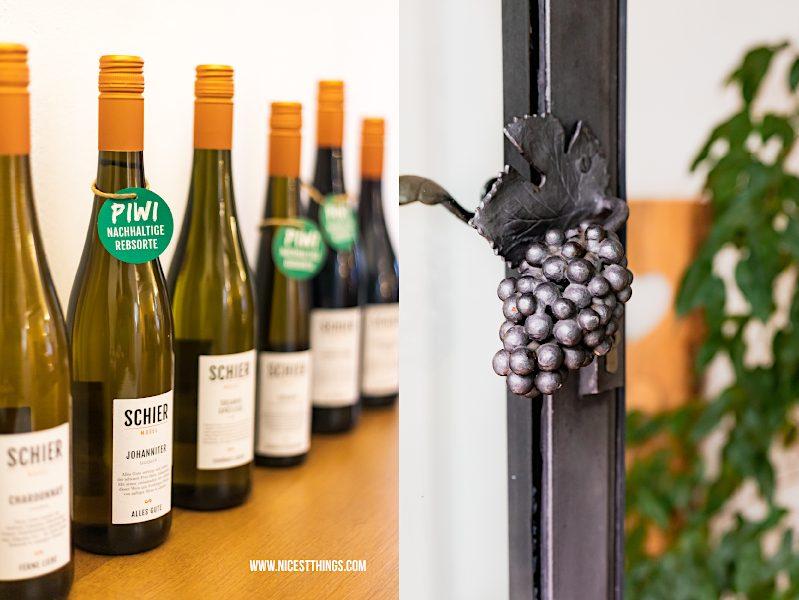Weingut Schier Mosel Weine PIWI Rebsorte Johanniter