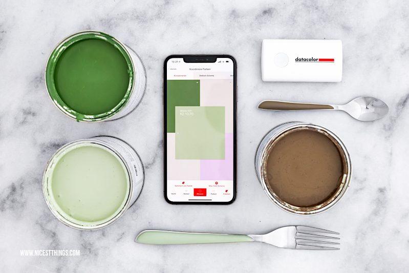 Datacolor ColorReader koordiniere Farben