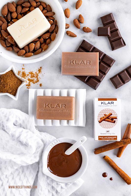 Klar Seifen Zimt Kakaobutter Mandel #klarseifen #seife #zimt #kakaobutter #mandel