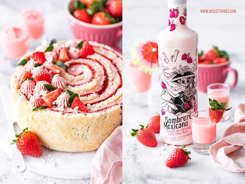 Sombrero Mexicano Likör Erdbeere