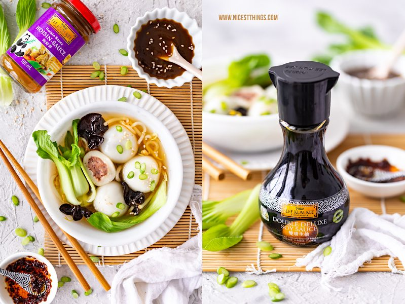 Tang Yuan herzhaft Rezept vegan Glutinous Rice Balls chinesische Reisbällchen Suppe #tangyuan #glutinousriceballs #vegan #herzhaft #rezept #asiatisch #chinesisch #LeeKumKeeCNY #reisbaellchen #suppe #veganerezepte #veganesuppen
