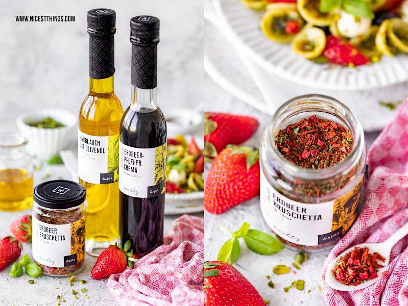 Wajos Erdbeer-Pfeffer-Crema