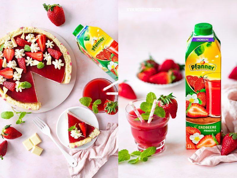 Pfanner Fruchtsaft Erdbeere