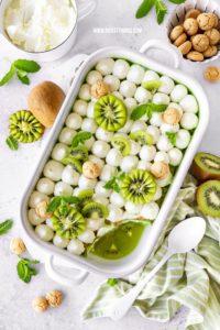 Kiwi Dessert Rezept Kiwi Tiramisu Amarettini Waldmeister Galbani Mascarpone #kiwi #dessert #tiramisu #kiwidessert #kiwitiramisu #amarettini #waldmeister #mascarpone #galbani
