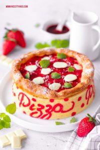 Pizza Torte Rezept Pizzatorte Motivtorte Pizza Geburtstagstorte #pizza #torte #pizzatorte #motivtorte #geburtstagstorte #cakeart #tortenkunst #erdbeertorte