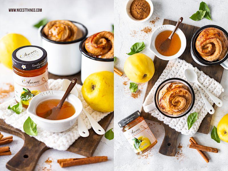 Mug Cake Rezept Zimt Quitte Tassenkuchen Maintal Quittengelee Annes Feinste #mugcake #tassenkuchen #zimt #quitten #maintal #herbstrezepte